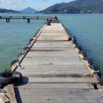 桟橋、復旧作業65%終了。画像更新!
