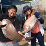 最新釣果情報!大真鯛、ブリ、メジロ、尺アジ、クロソイ、甘鯛、レンコ鯛!・・etc