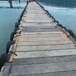 桟橋の修繕完了です♪出航をお待ちしております!