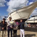 ヤマハUF33入荷!進水式!おめでとうございます!