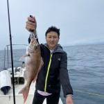 初オフショアで初真鯛!初ボート購入か?!!レンタルボートのお客様のインスタ紹介!!